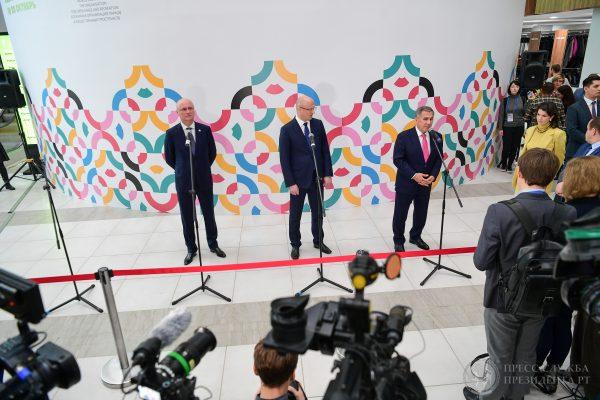 Вице-премьер Казахстана посетил конгресс World Urban Parks в Казани