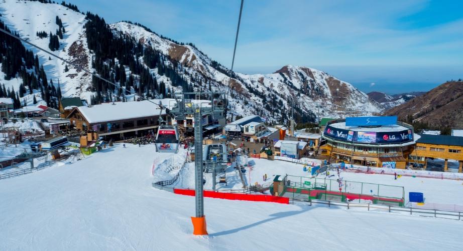 Казахстанские горнолыжные курорты признаны самыми популярными в СНГ