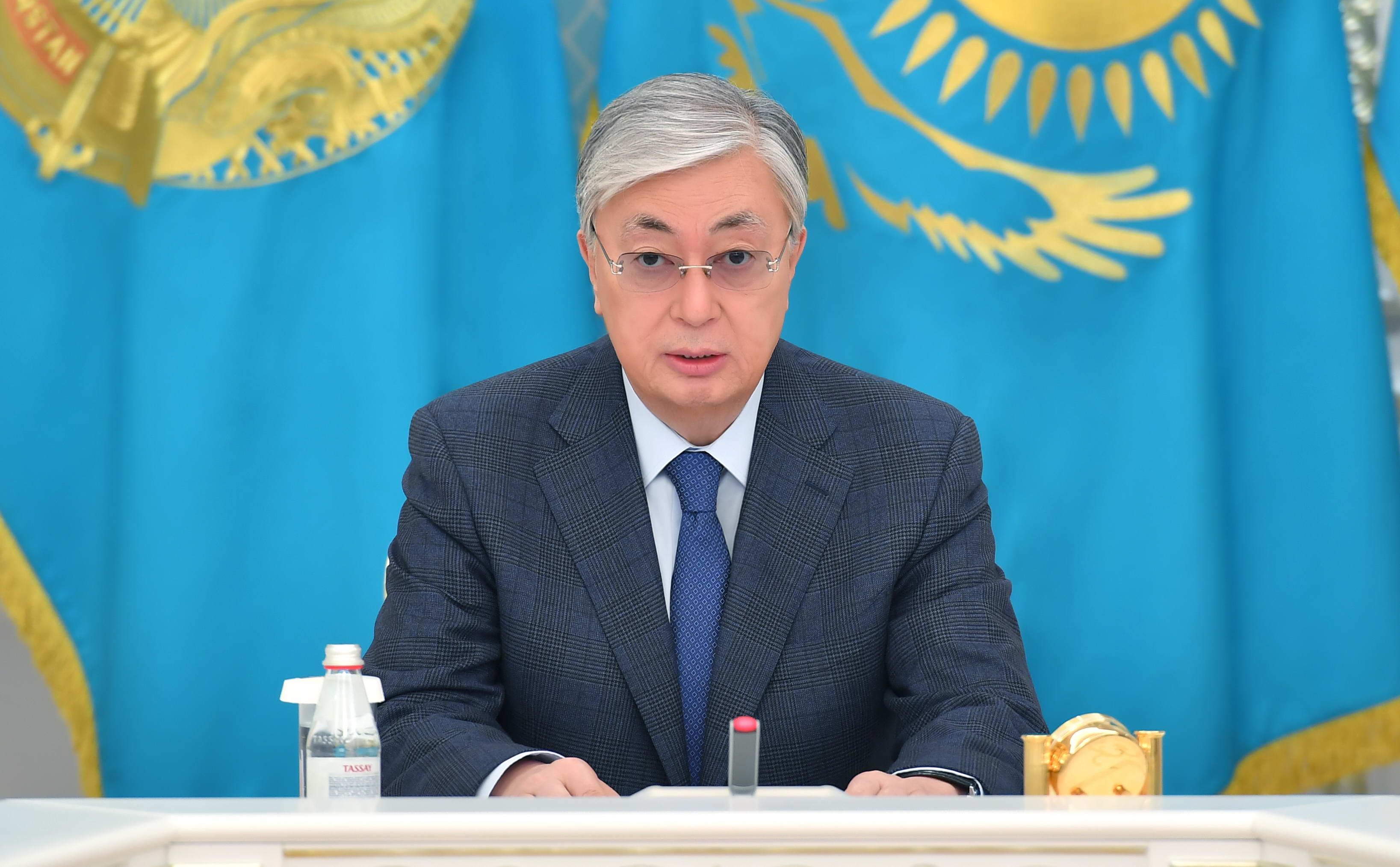 Заявление Главы государства Касым-Жомарта Токаева в связи с событиями в Жамбылской области