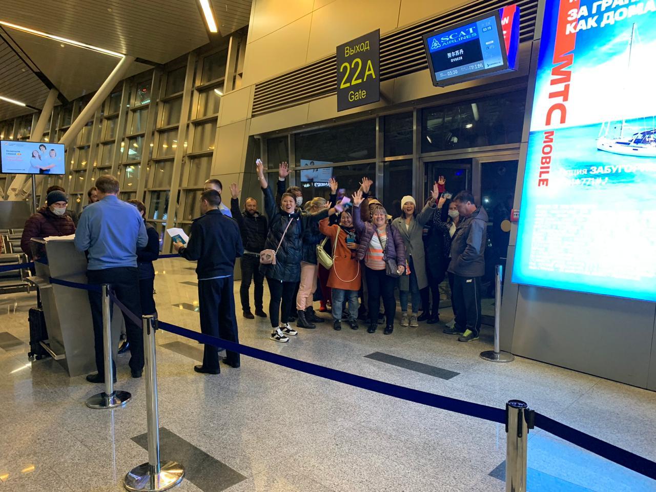 Форс-мажорный транзит: 105 казахстанцев возвращаются домой из России
