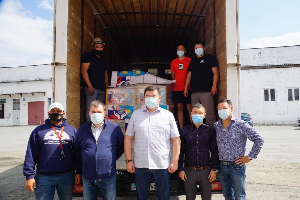 Из Тюмени в Казахстан отправлена гуманитарная помощь
