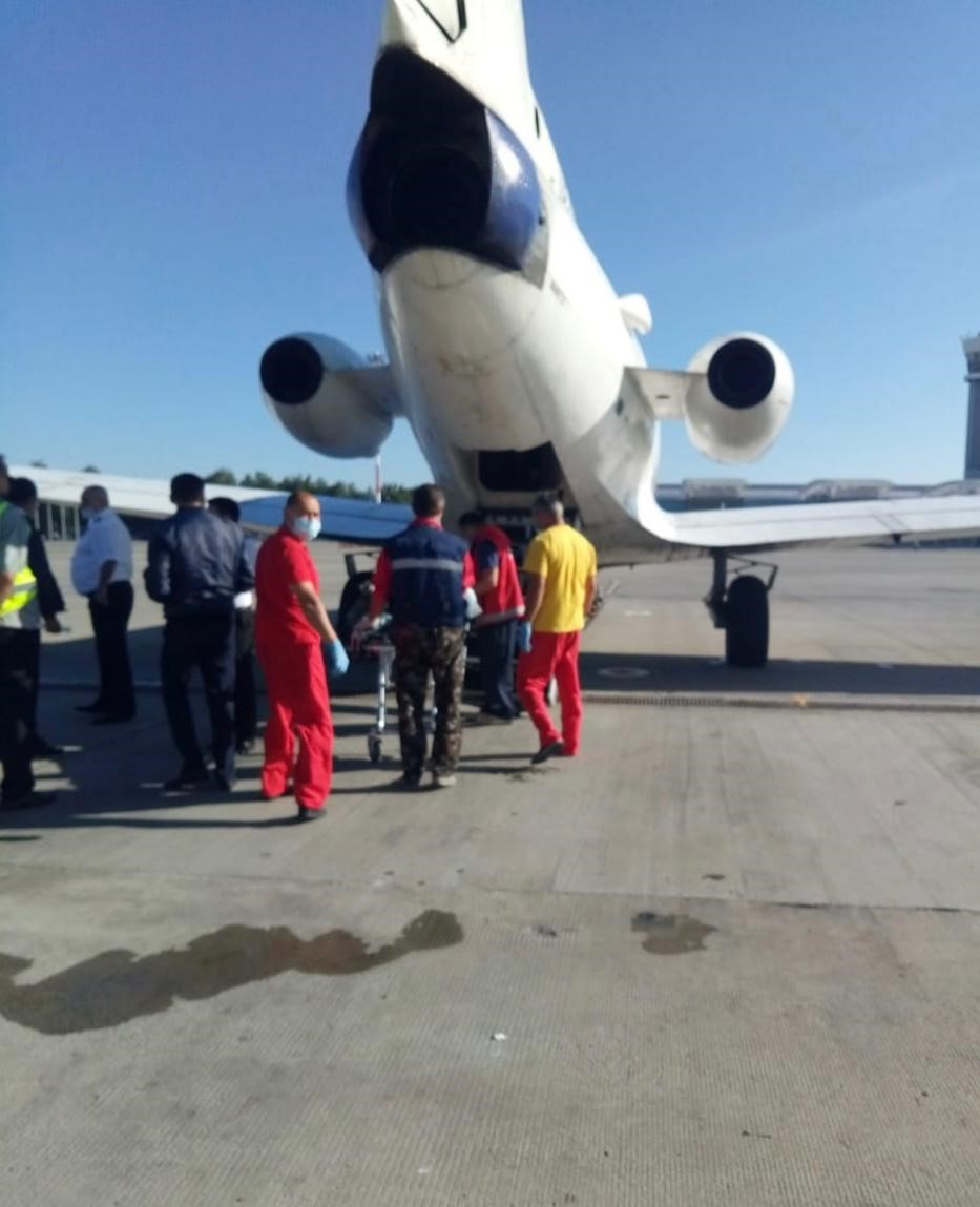 Успешная транспортировка гражданина Республики Казахстан в тяжелом положении   из г. Казани в г.Павлодар