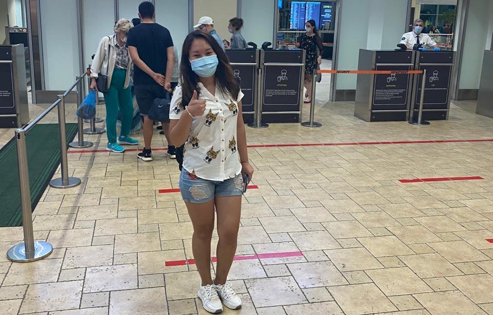 Гражданка РК с ограниченными возможностями благополучно вернулась на Родину