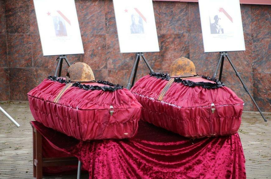 В Московской области перезахоронили казахстанского воина