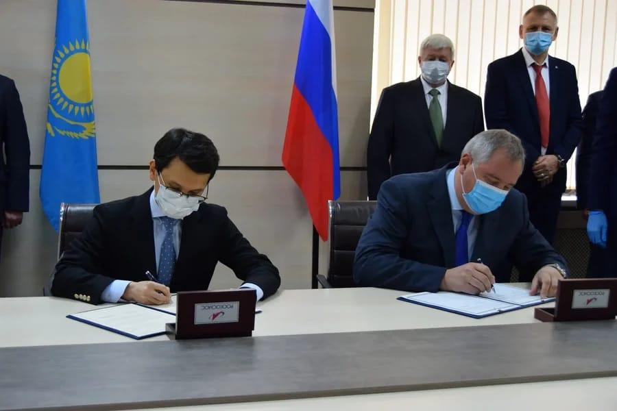 В Москве обсудили актуальные вопросы казахстанско-российского сотрудничества в космической сфере