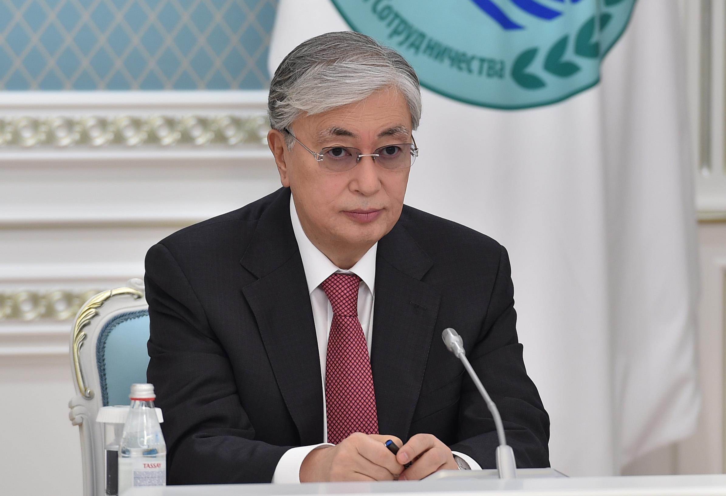 Президент Казахстана принял участие в заседании Совета глав государств-членов ШОС
