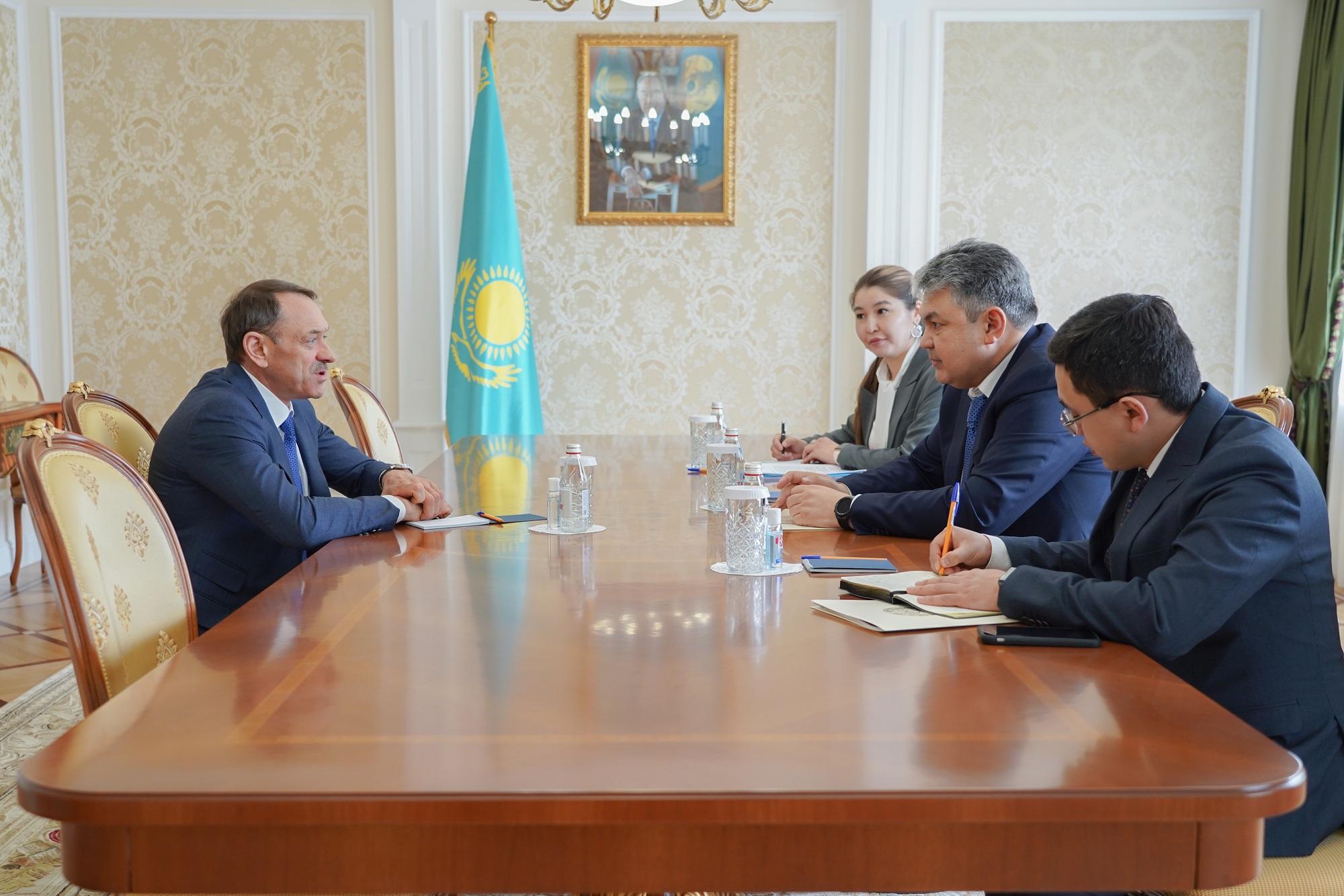 В Посольстве РК в РФ обсуждены российские агропроекты в Казахстане
