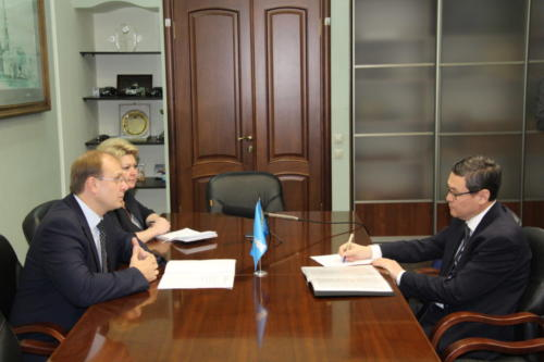 Встреча Генконсула с Председателем Правительства Ульяновской области