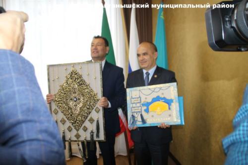 Визит делегации Таскалинского района ЗКО в Актанышский район РТ