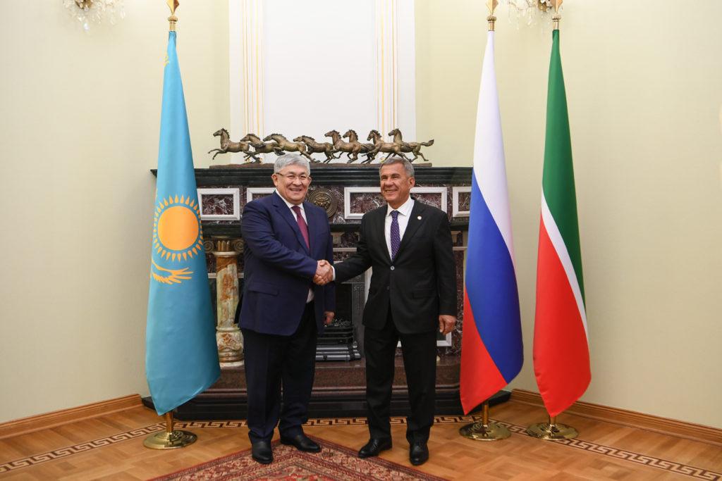 Татарстан заинтересован в сотрудничестве с Кызылординской областью