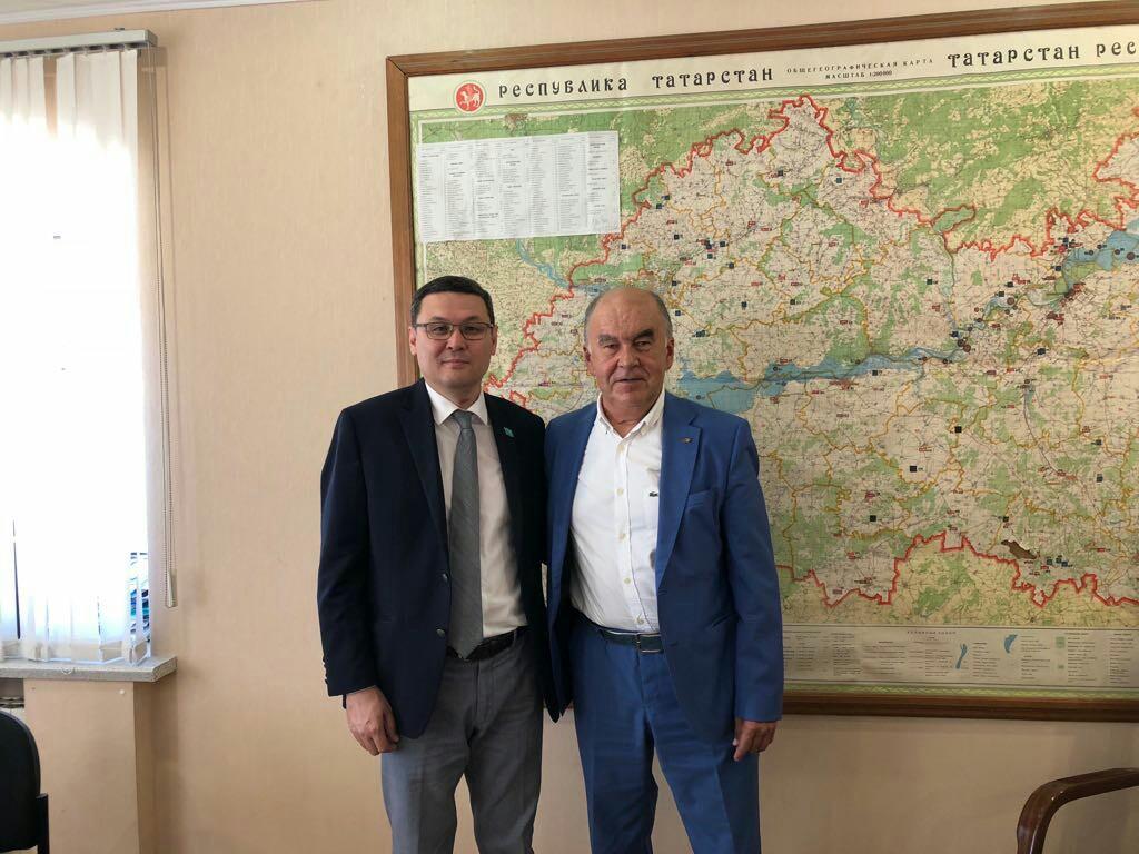 Генеральный консул Республики Казахстан в г. Казани встретился с председателем Торгово-промышленной палаты Республики Татарстан