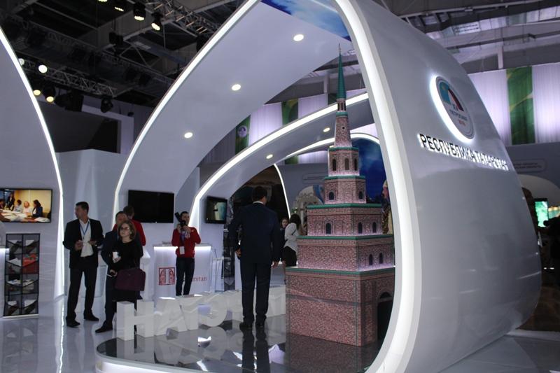 В Петропавловске открылась туристическая выставка Казахстана и России