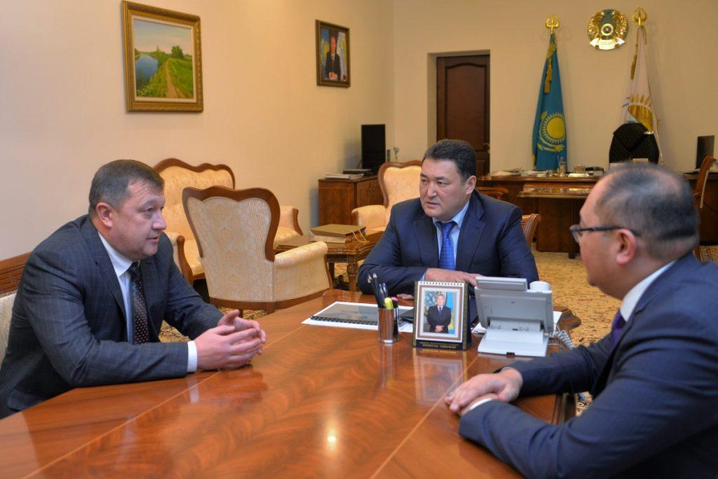 Павлодарская и Курганская области расширяют сотрудничество