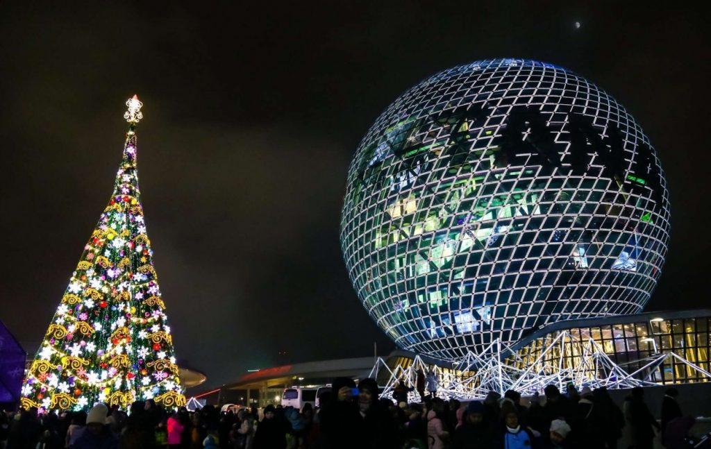 Астана и Алматы популярны у российских туристов на Новый год