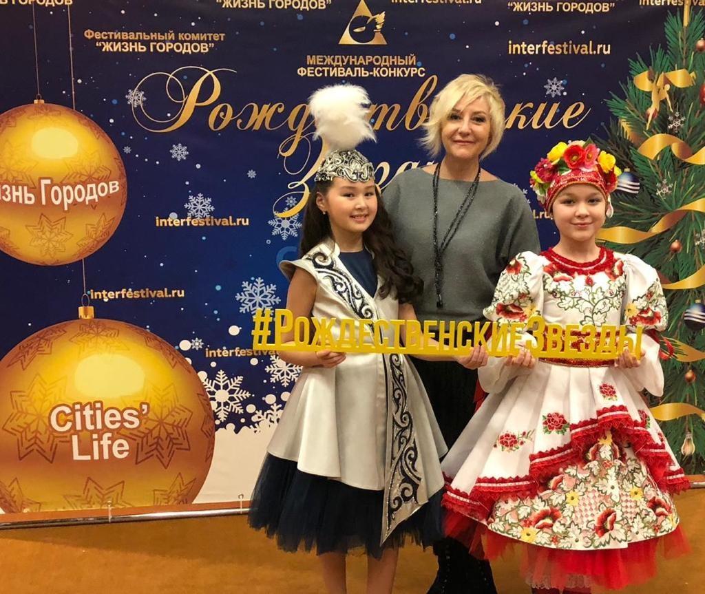 Юные артисты из Павлодара стали победителями международного фестиваля в Москве