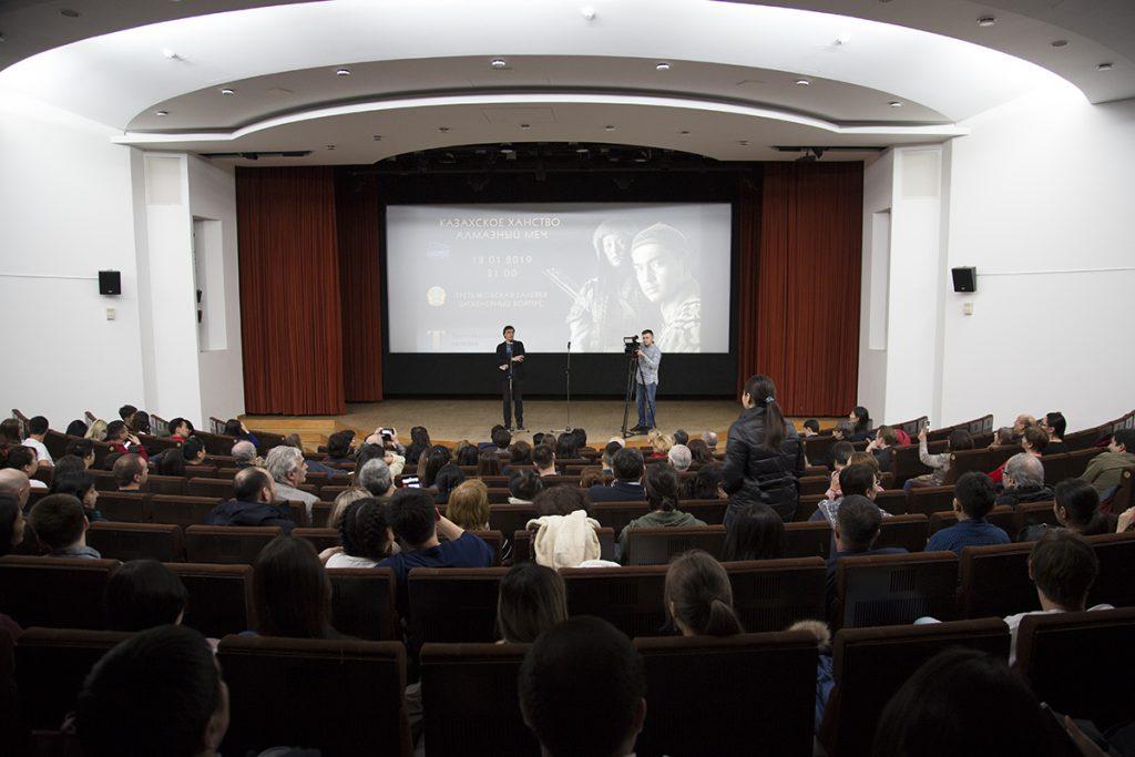 В Москве состоялся спецпоказ фильма «Казахское ханство. Алмазный меч» казахстанского режиссёра Рустема Абдрашева