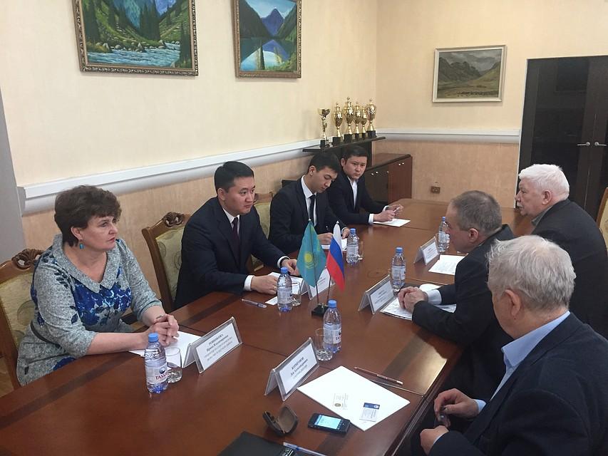 Алтайский технический университет укрепляет сотрудничество с ВУЗами Казахстана