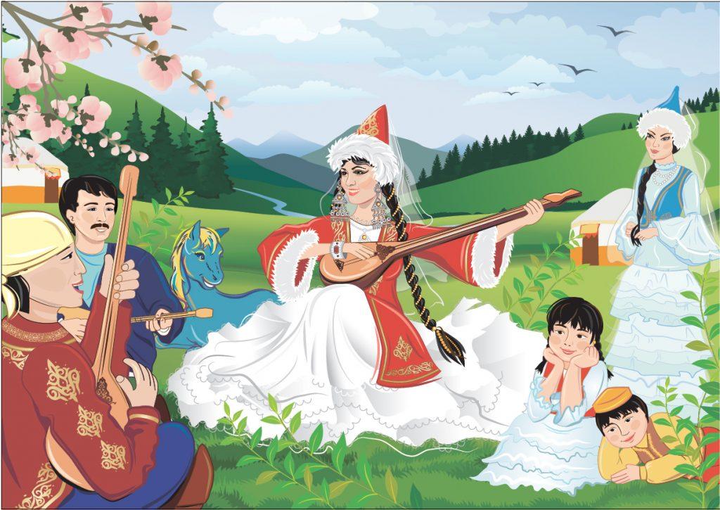 Красивые открытки на казахском, наступающим вербным воскресеньем