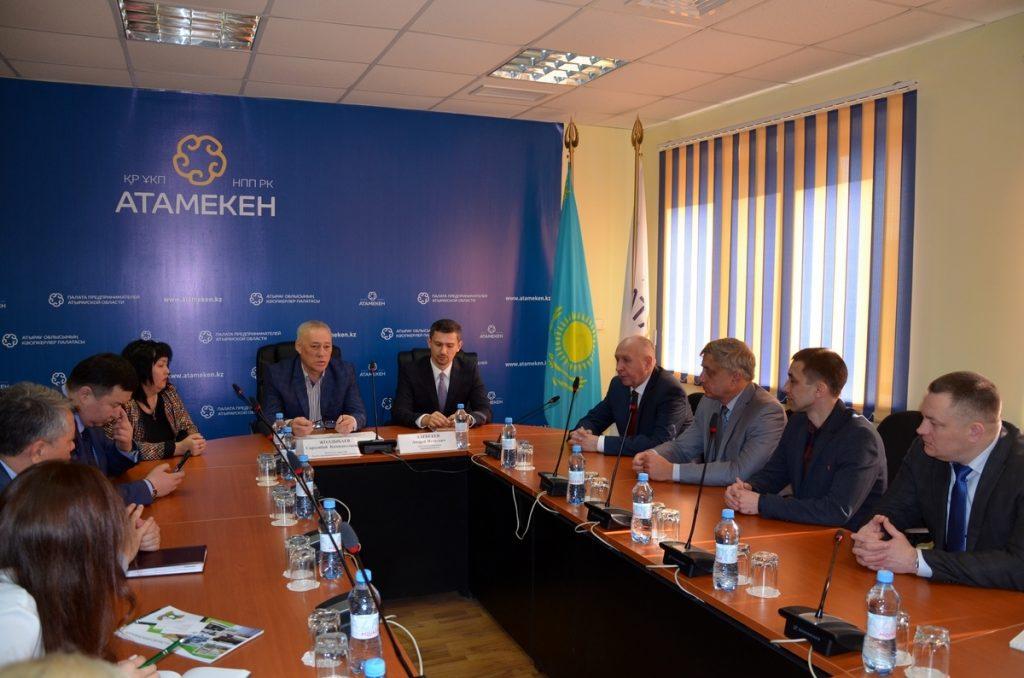 Предприниматели Курганской области встретились с деловыми партнерами в Атырау