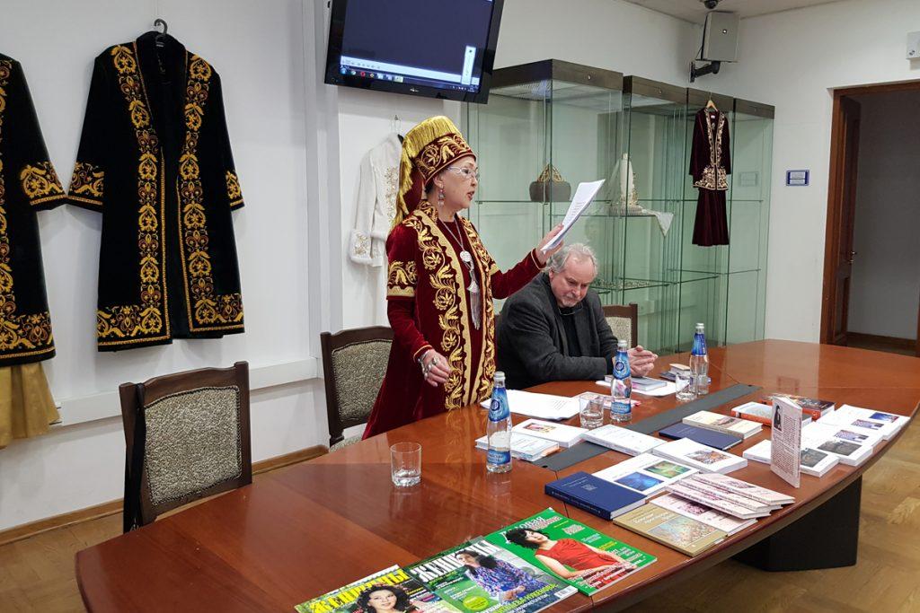 Презентация книг Раушан Буркитбаевой-Нукеновой