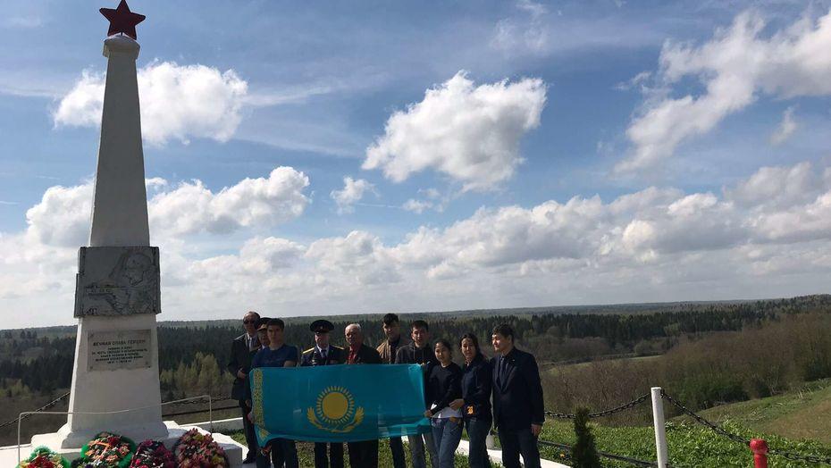В Тверской области перезахоронили останки казахстанских солдат