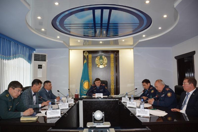 Казахстанские и российские полицейские обсудили совместные меры по противодействию преступности
