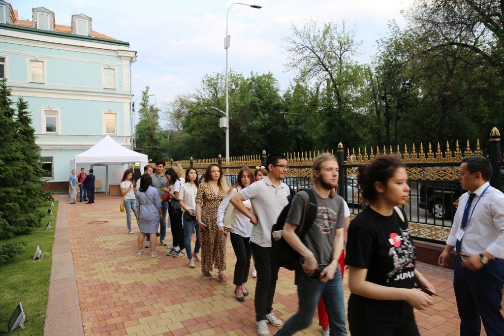 Ресейдегі қазақстандықтар Президент сайлауында дауысын берді