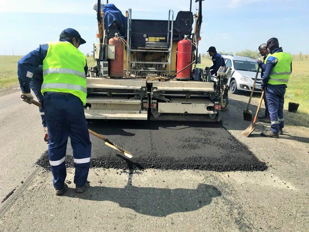 150 км автодороги Самара – Шымкент отремонтируют в этом году