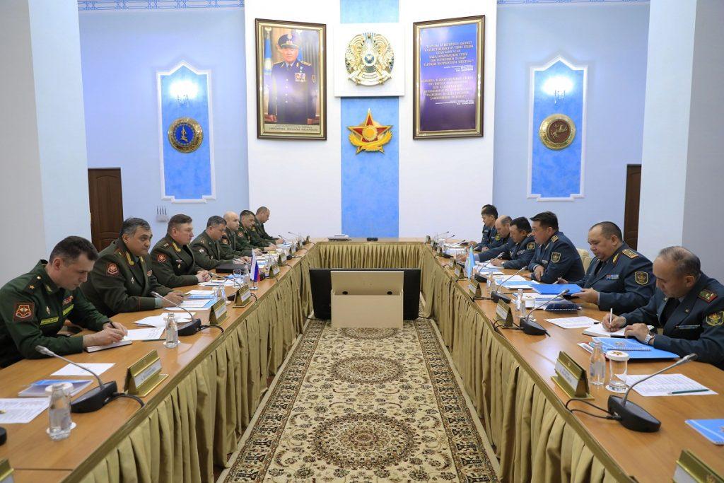 Представители ВС Казахстана и России обсудили вопросы текущего сотрудничества
