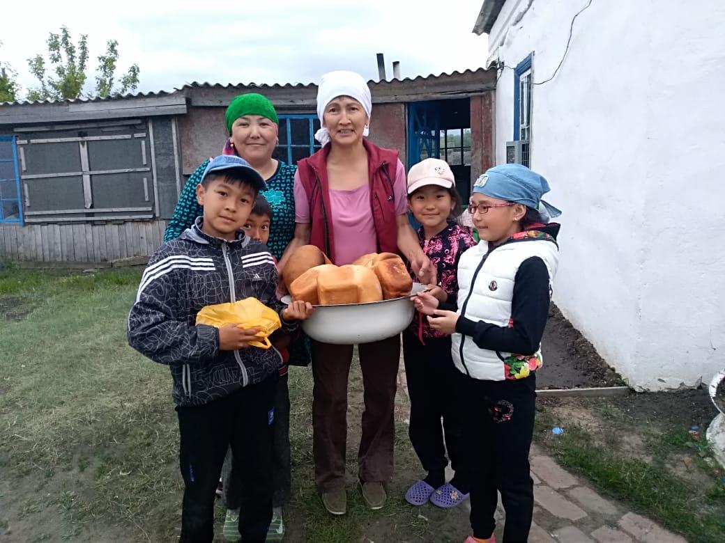 Омские школьники побывали в казахском ауле