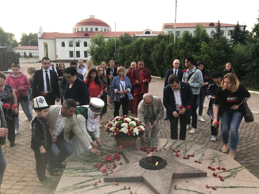 В Волоколамске почтили память жертв войны