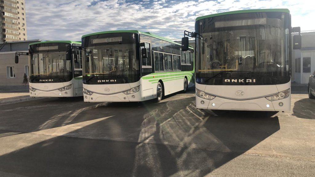 В Перми протестируют казахстанкий электробус