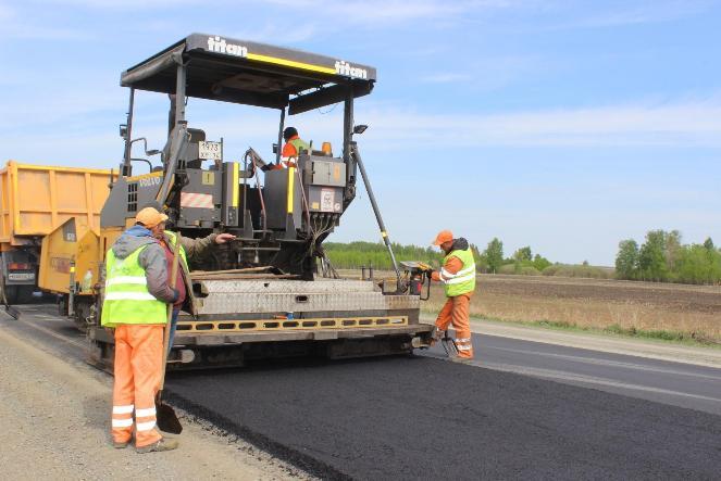 Дорога из Челябинска в Казахстан стала новой и прочной