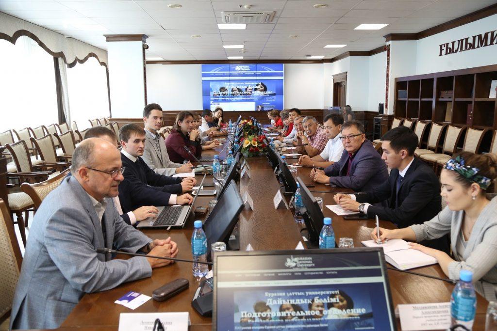 ЕНУ И МИФИ обсудили вопросы совместной подготовки кадров
