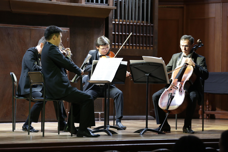 Музыка – это любовь: Квартет имени Г. Жубановой выступил с концертом в Москве