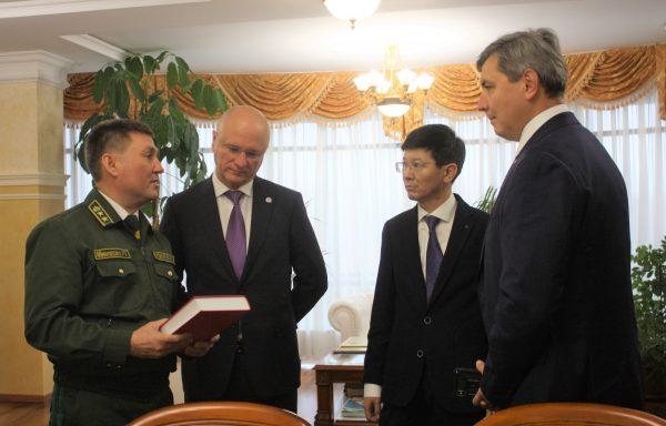 В Министерстве лесного хозяйства Республики Татарстан обсудили возможности сотрудничества между Казахстаном и Татарстаном