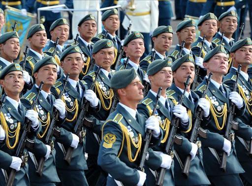 Казахстанские военнослужащие примут участие в параде Победы в Москве