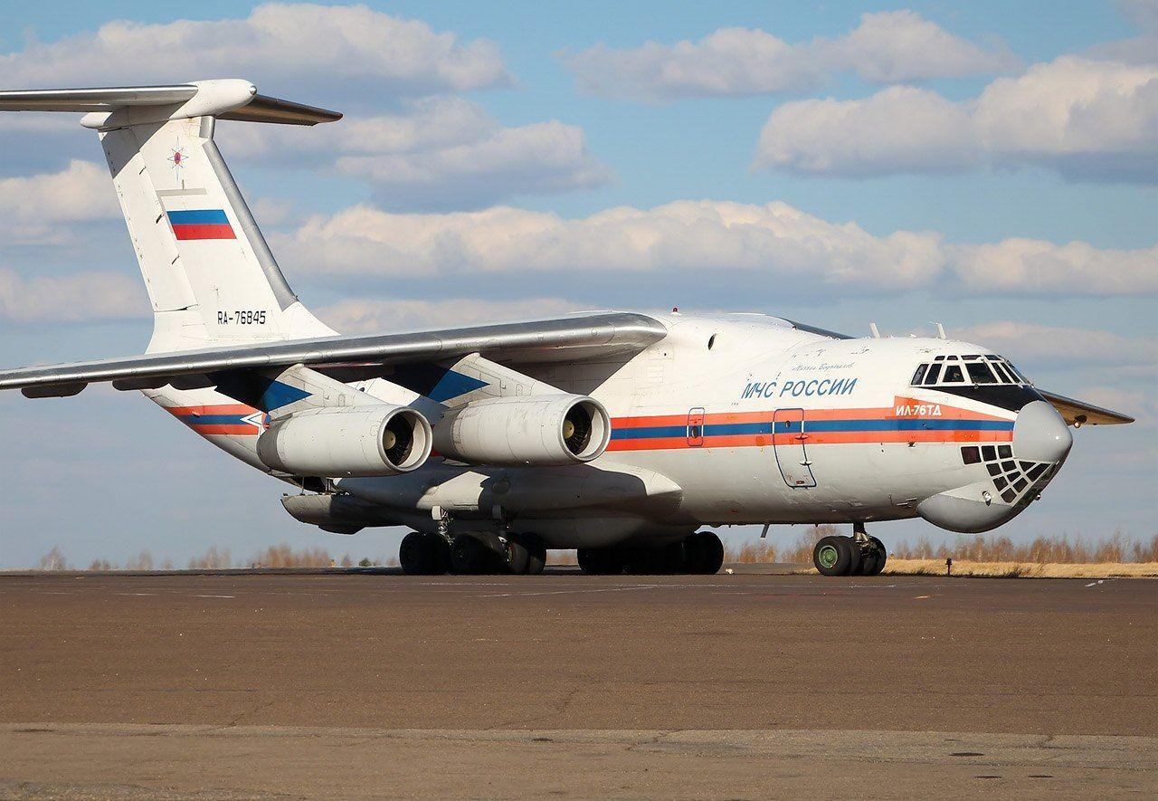 Ресей Федерациясы Қазақстанға гуманитарлық жүк жіберді