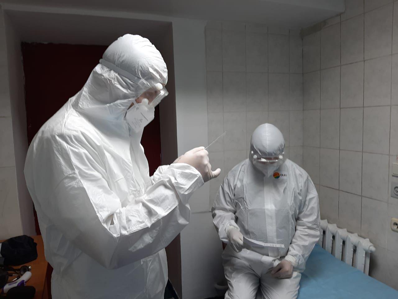 Военные медики Казахстана и России приступили к совместной работе по борьбе с коронавирусом