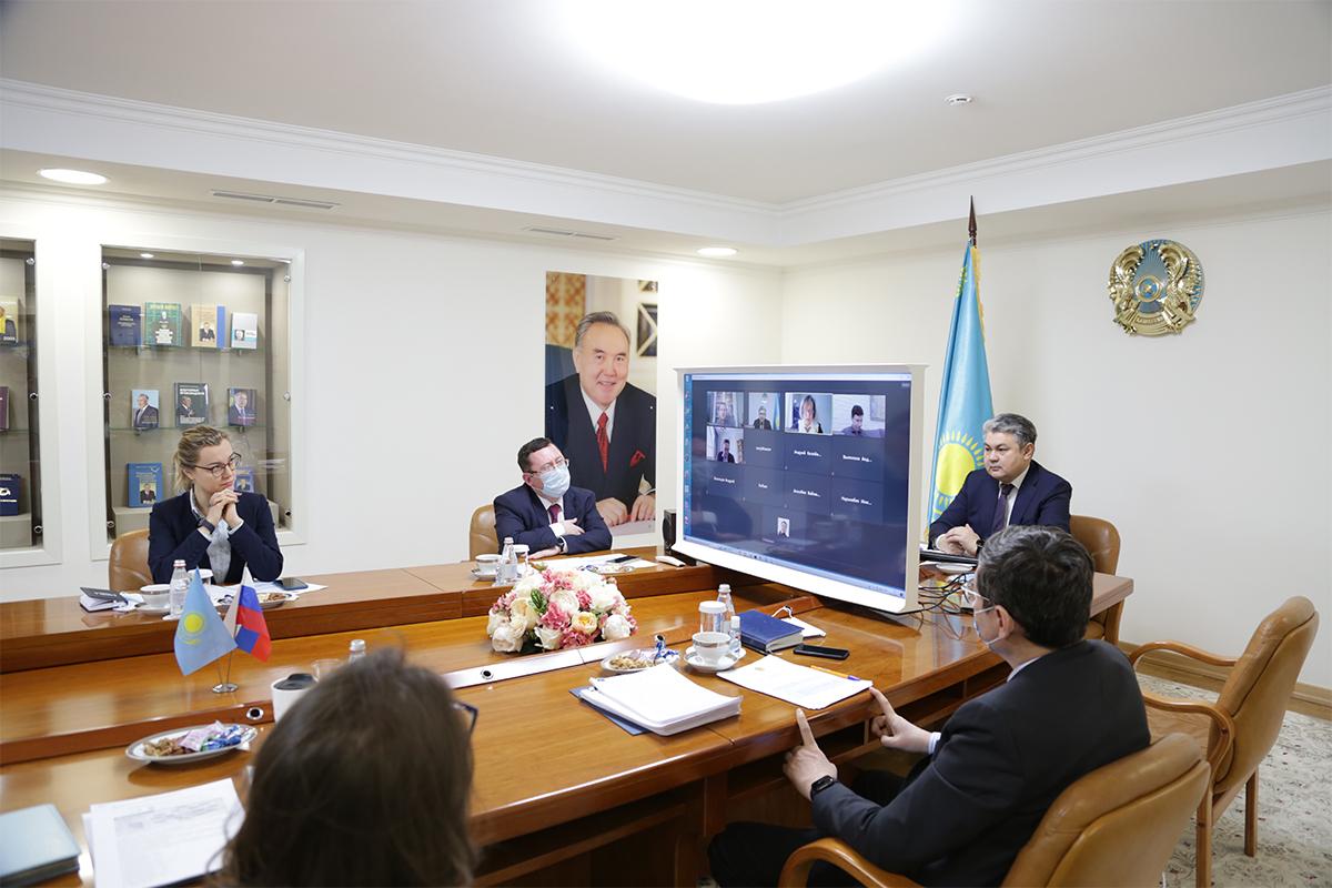 В Москве обсудили итоги выборов в Мажилис Парламента Казахстана