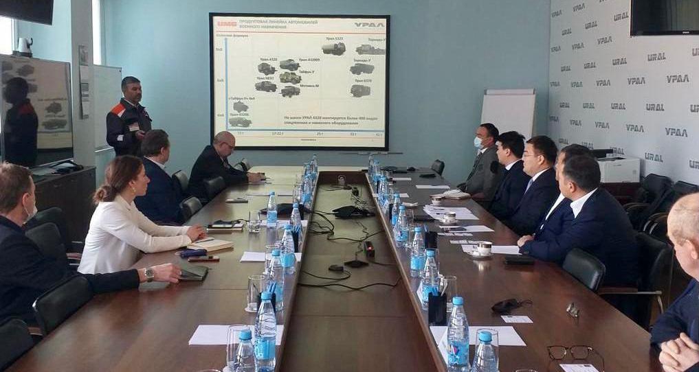 Туркестанская и Челябинская области расширяют сотрудничество