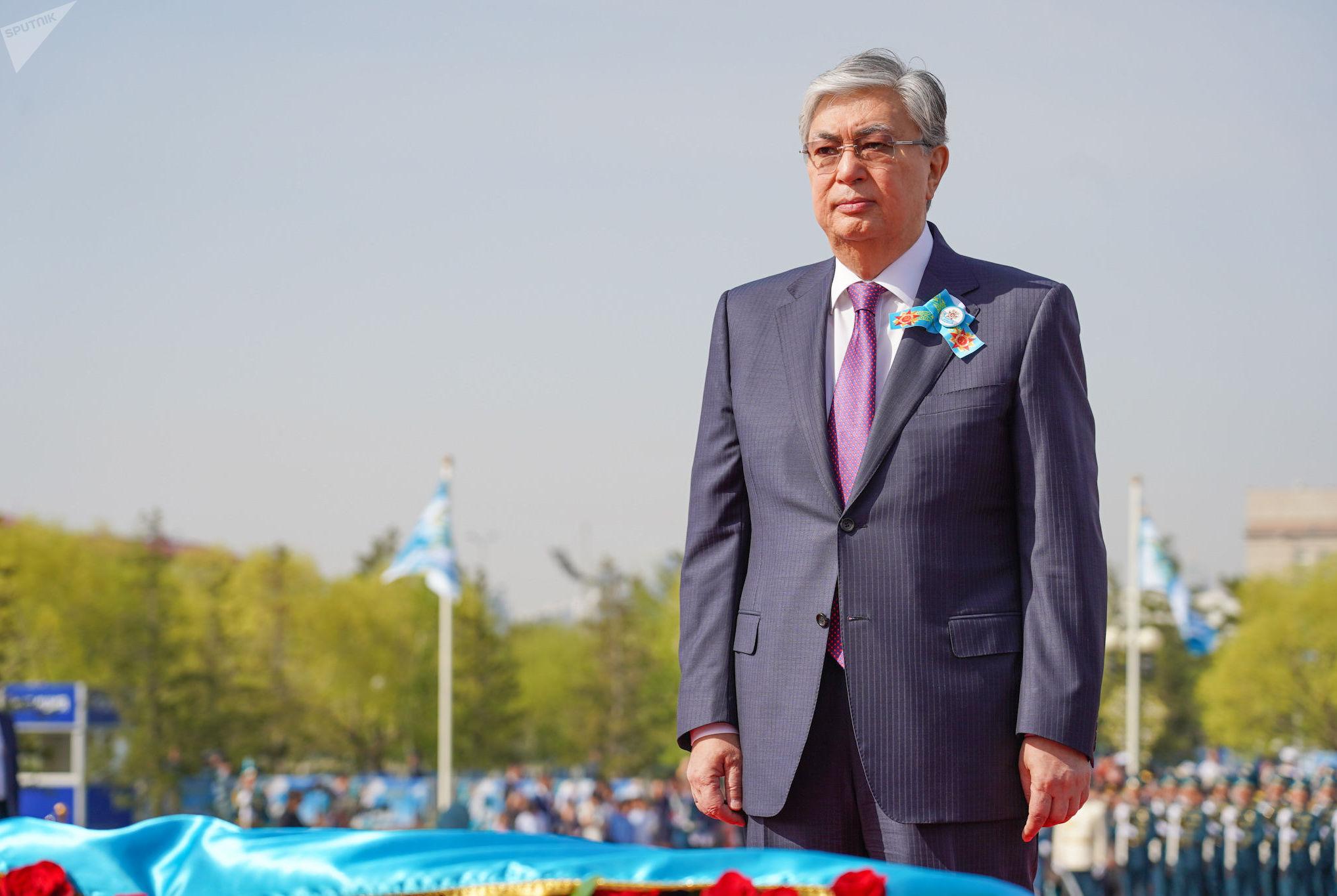 Поздравление Главы государства Касым-Жомарта Токаева с Днем Победы