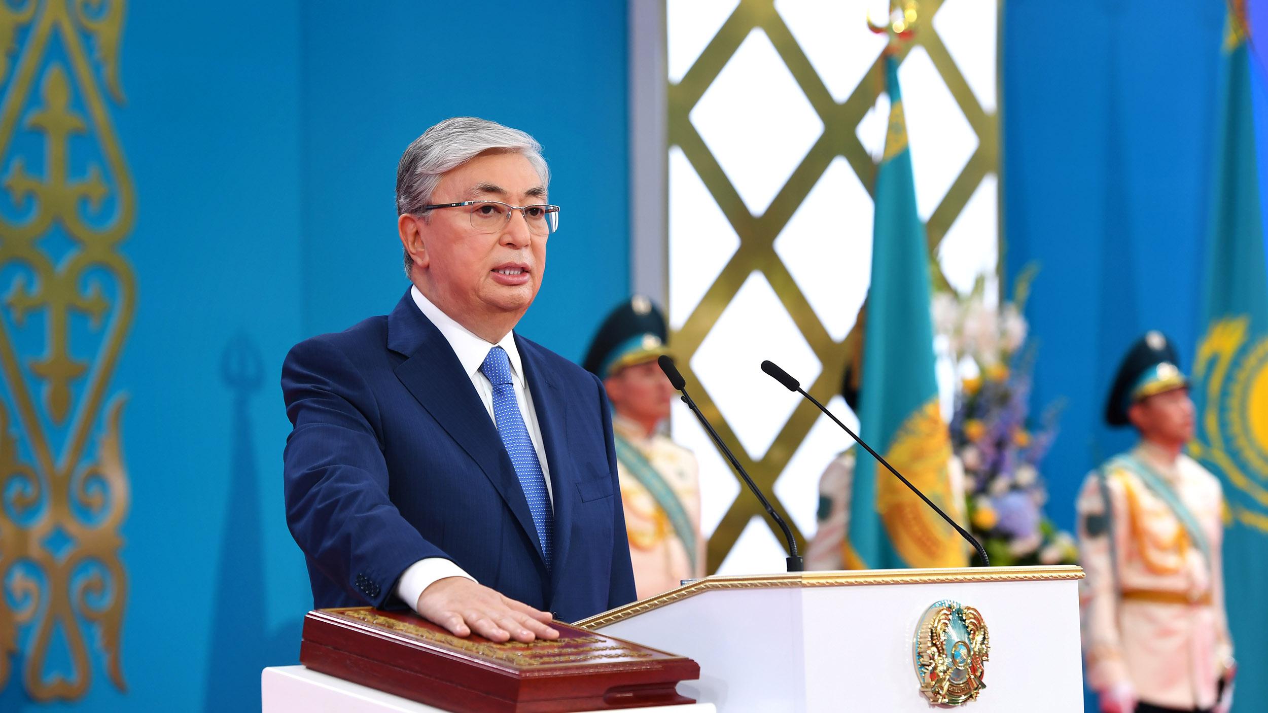 Анонс фильма к годовщине инаугурации Президента РК Касым-Жомарта Токаева