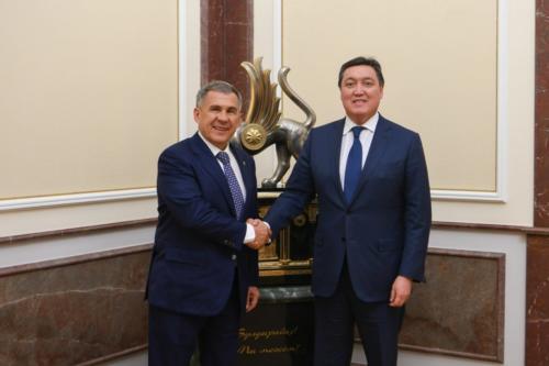 Второе заседание Татарстано-Казахстанской рабочей группы по торгово-экономическому сотрудничеству