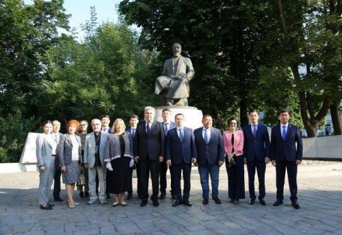Казахстанские дипломаты отметили День Абая в Москве
