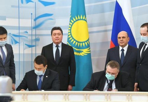Визит Премьер-министра РК А.Мамина в Казань